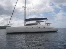 Fountaine Pajot Bahia 46 : At anchor in Guadeloupe